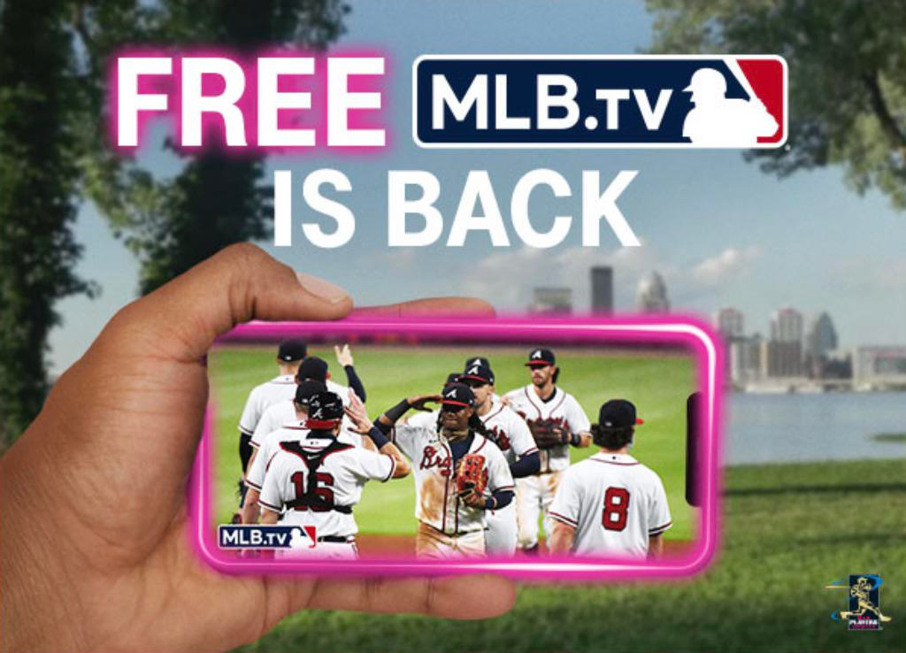 MLB is back email image