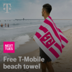 Free Beach Towel Coming To T-Mobile Tuesdays July 27th